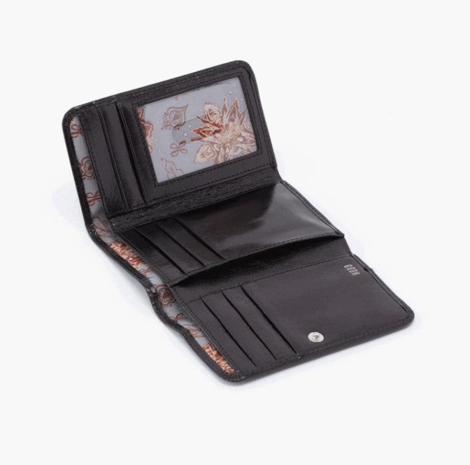 HOBO - JILL WALLET IN BLACK