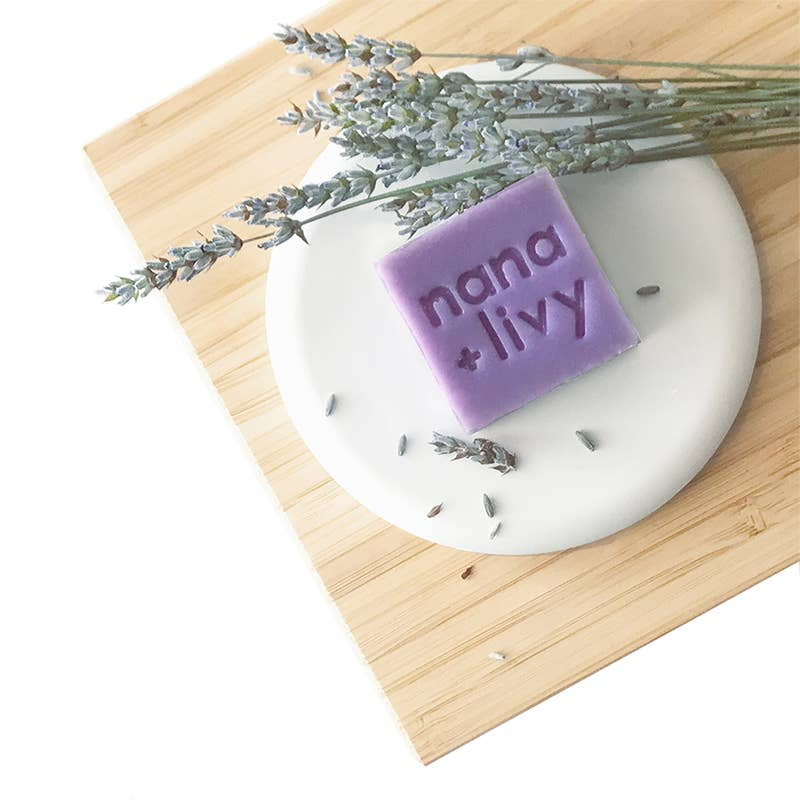 NANA + LIVY - NO 4 LAVENDER SOAP BLOCK
