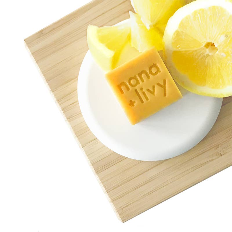 NANA + LIVY - NO 8 LEMON SOAP BLOCK