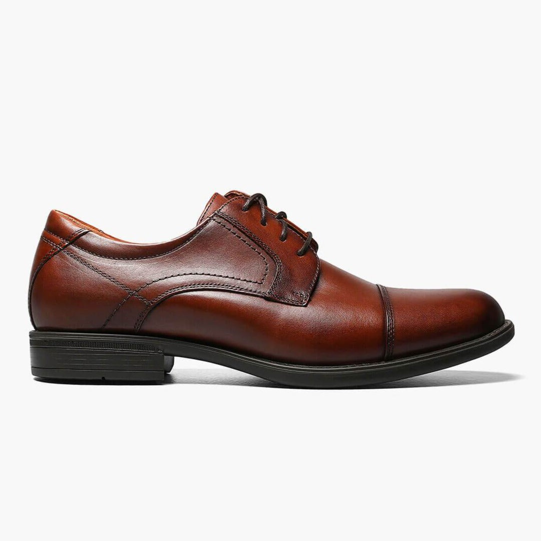 FLORSHEIM - MIDTOWN CAP TOE IN COGNAC