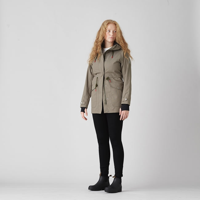 TRETORN - WOMENS FIELD PARKA IN FIELD GREEN
