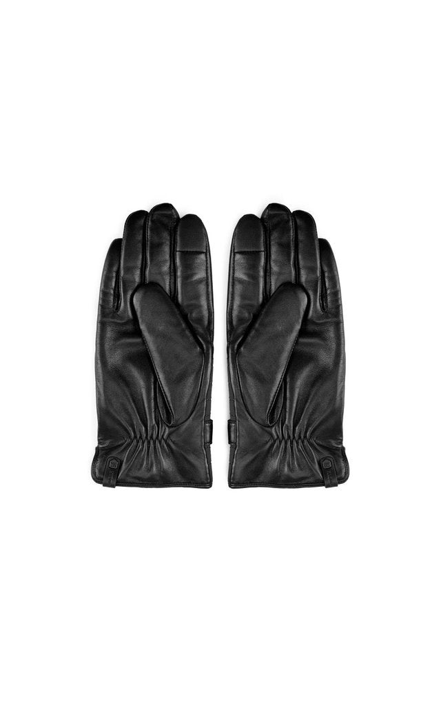 RUDSAK - GIL GLOVE IN BLACK/BLACK