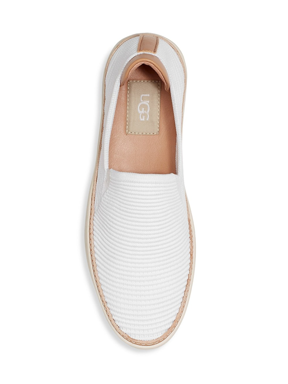UGG - SAMMY IN WHITE RIB KNIT