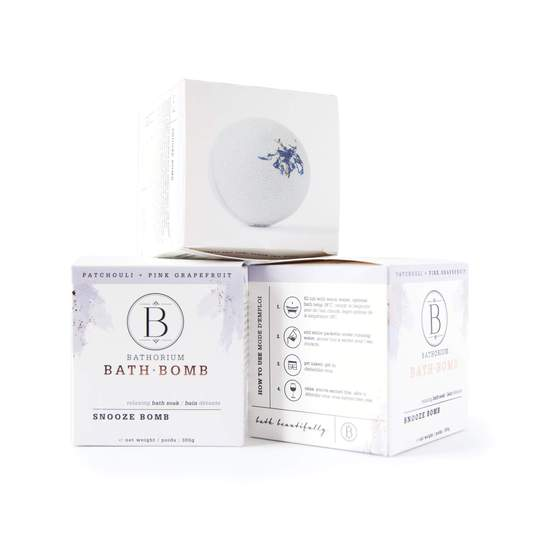BATHORIUM - BATH BOMB SNOOZE BOMB