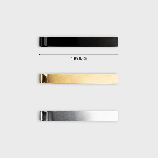 WURKIN STIFFS - THE SLIM TIE BAR PACK OF 3