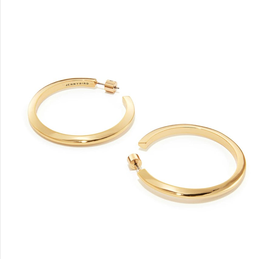JENNY BIRD - TONI HOOPS - LARGE IN GOLD