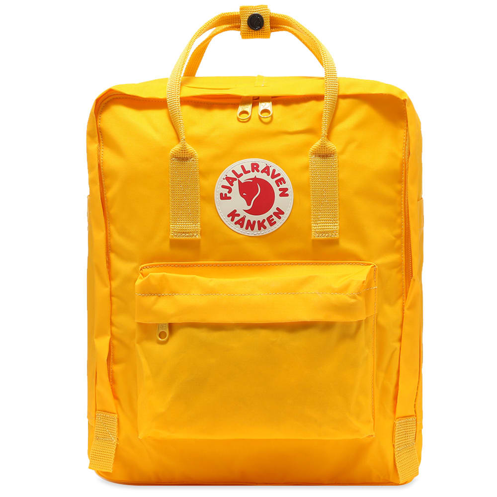 FJALLRAVEN - KANKEN BACKPACK IN WARM YELLOW