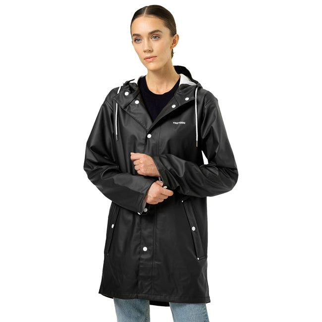 TRETORN - UNISEX WINGS RAIN JACKET IN BLACK