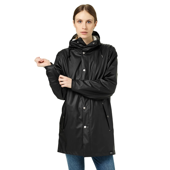 TRETORN - UNISEX WINGS PLUS ECO RAIN JACKET IN BLACK