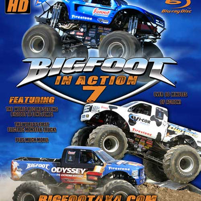 BIGFOOT In Action 7 Blu-Ray