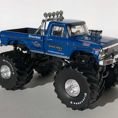 "NOT A TOY - 1:64 Greenlight Collectibles BIGFOOT #1 With 66"" Tires"