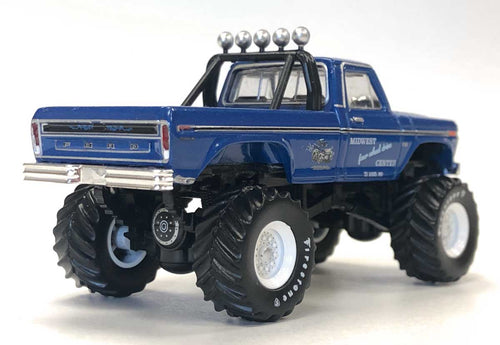 NOT A TOY - 1:64 Greenlight Collectibles Midwest 4WD Truck (BIGFOOT #1) Die-Cast