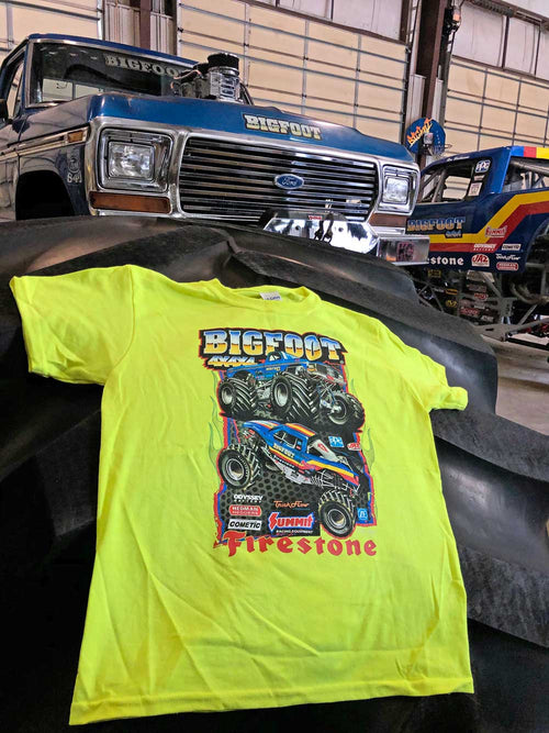79 BIGFOOT & BIGFOOT Racer KIDS T-Shirt