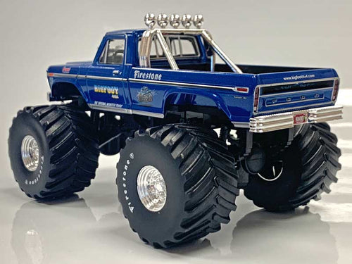 "NOT A TOY - 1:43 Greenlight Collectibles BIGFOOT #1 With 66"" Tires"