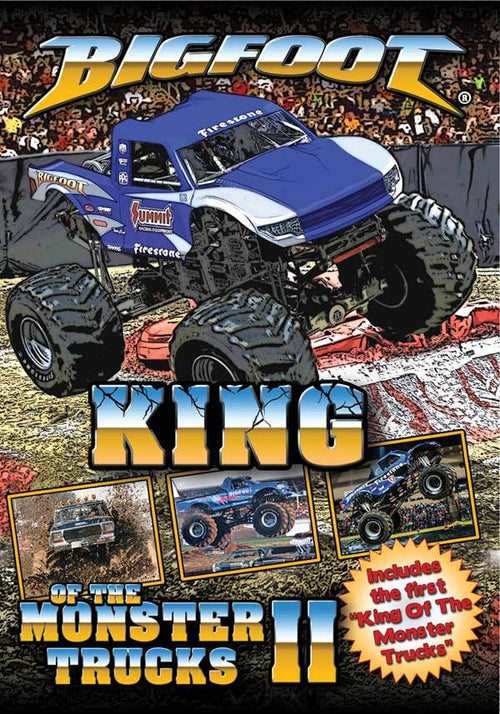 BIGFOOT King Of The Monster Trucks II DVD