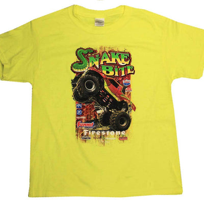 Snake Bite KIDS Safety Green (Yellow) T-Shirt