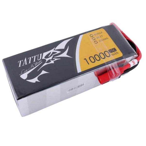 Tattu 10,000mAh 22.2V 25C 6S  Lipo Battery