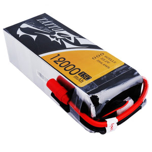 Tattu 12,000mAh 22.2V 25C 6S  Lipo Battery