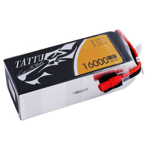 Tattu 16,000mAh 22.2V 25C 6S  Lipo Battery