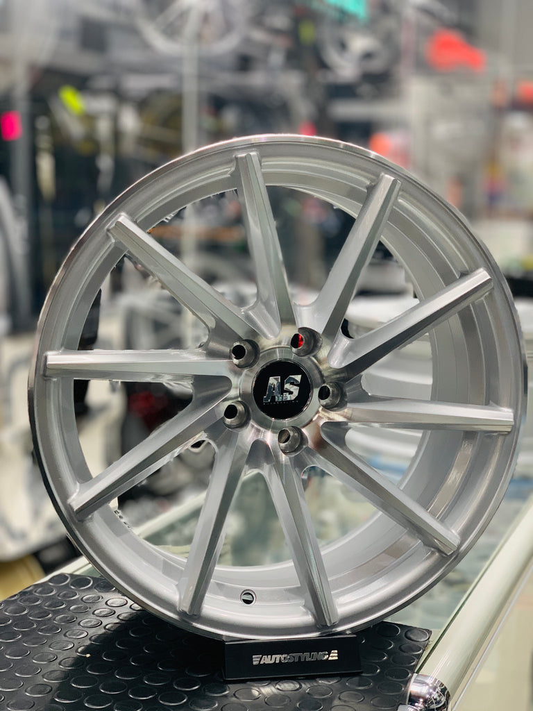 "17"" AS- CVT 5/100 MACHINE SILVER DIRECTIONAL FITMENT"