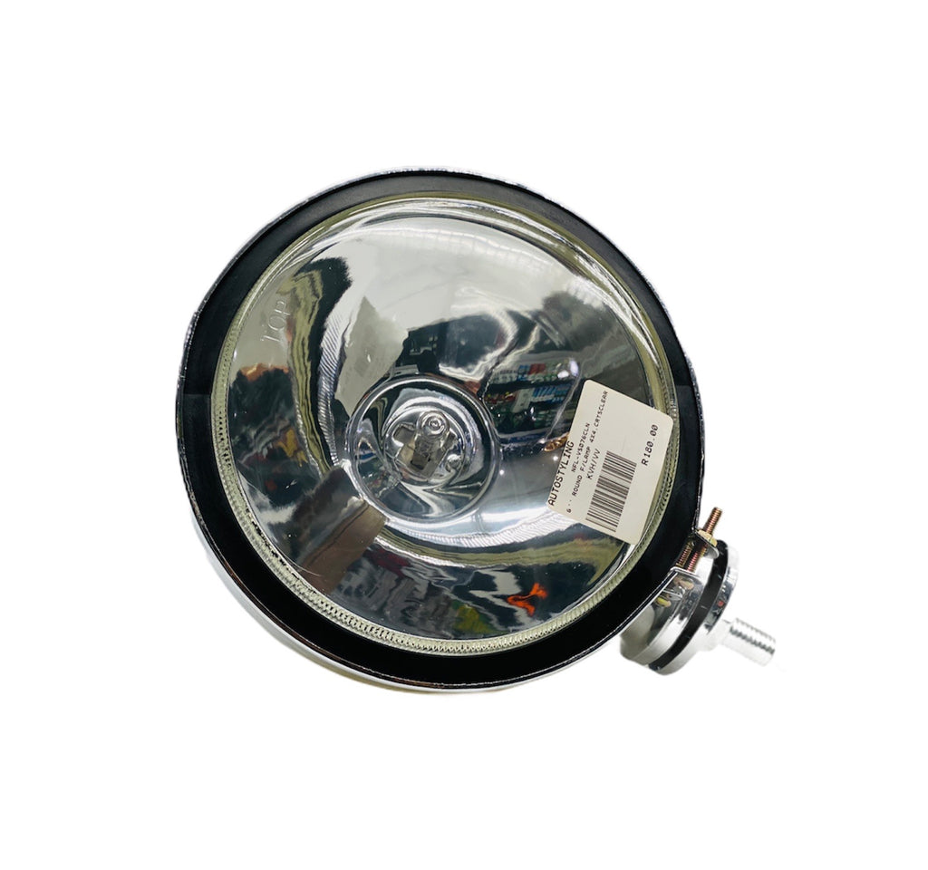 "6"" ROUND 4x4 CRYSTAL CLEAR FOG LAMP"