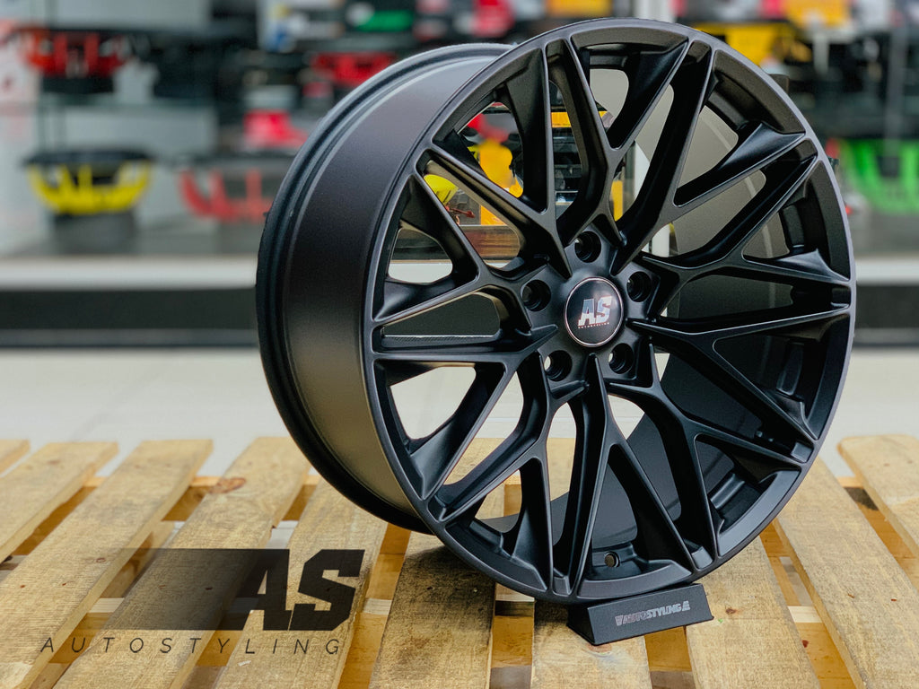 "19"" AS-F1202  5/120 MATT BLACK"