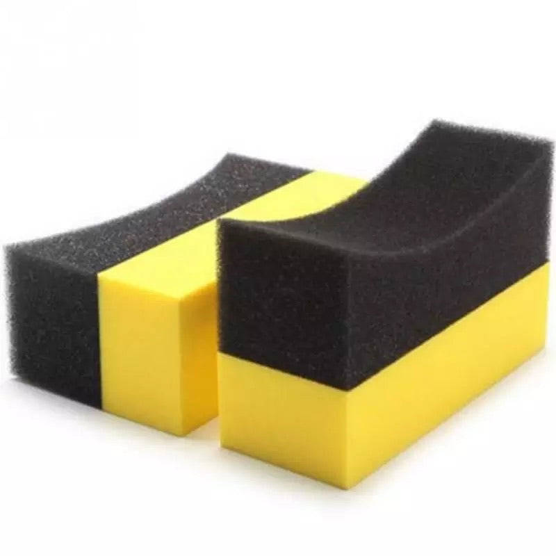 U-Shape Tire polish sponge