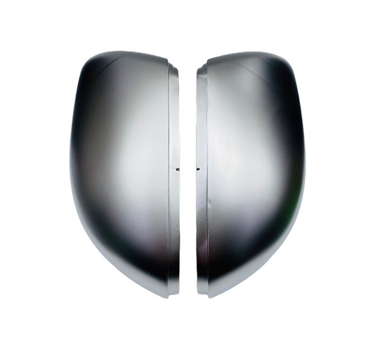 VW GOLF MK 6 MIRROR COVERS SATIN SILVER