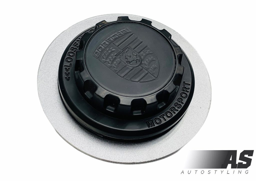 AS- PORSCHE MESH CENTRE CAP & PLATE