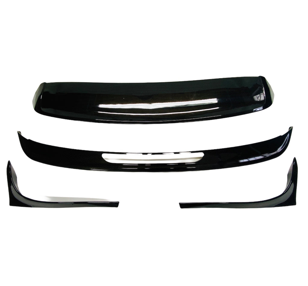 VW MK 7 TSI TO GTI 4PCE BOOT SPOILER CARBON LOOK