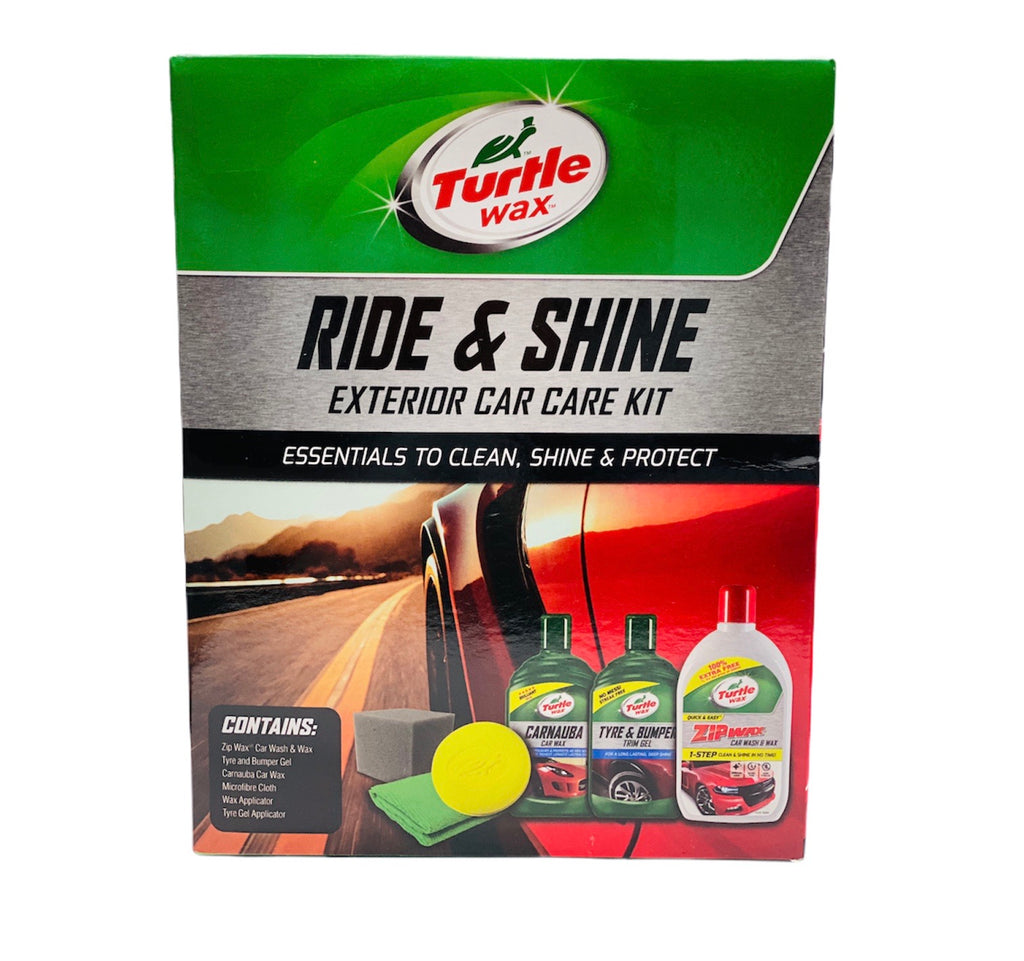 RIDE AND SHINE EXTERIOR CAR CARE KIT