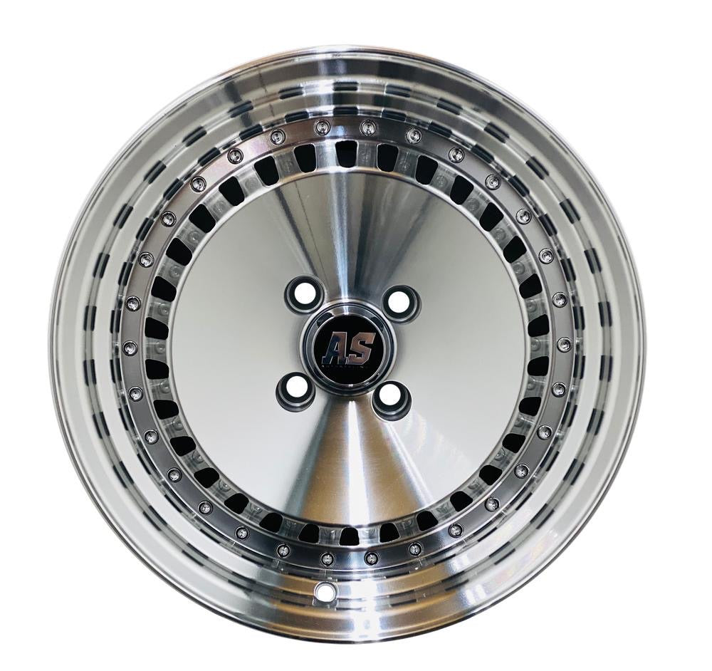 "15"" AS- SCHMIDTS SILVER"