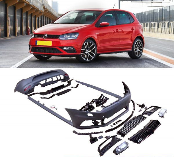 POLO 6c GTI BUMPER KIT UPGRADE