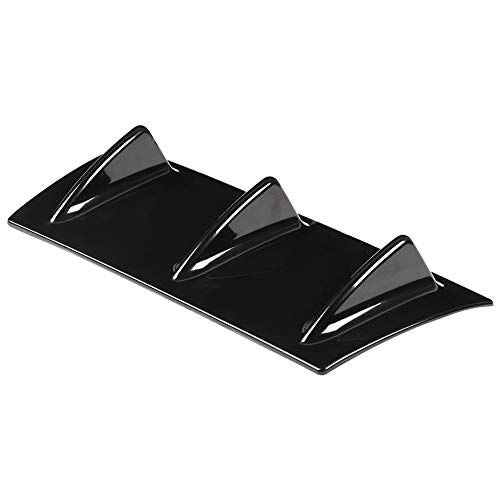 UNIVERSAL REAR DIFFUSER FLAT GLOSS BLACK