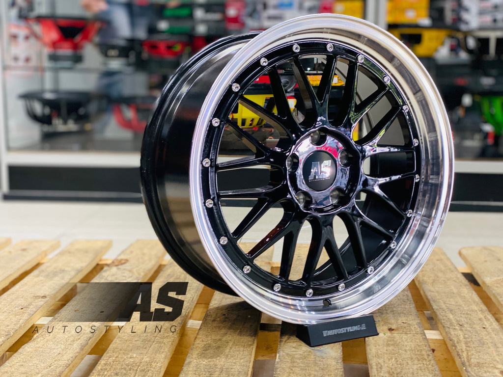 "18"" AS- LM 5/114 BLK"