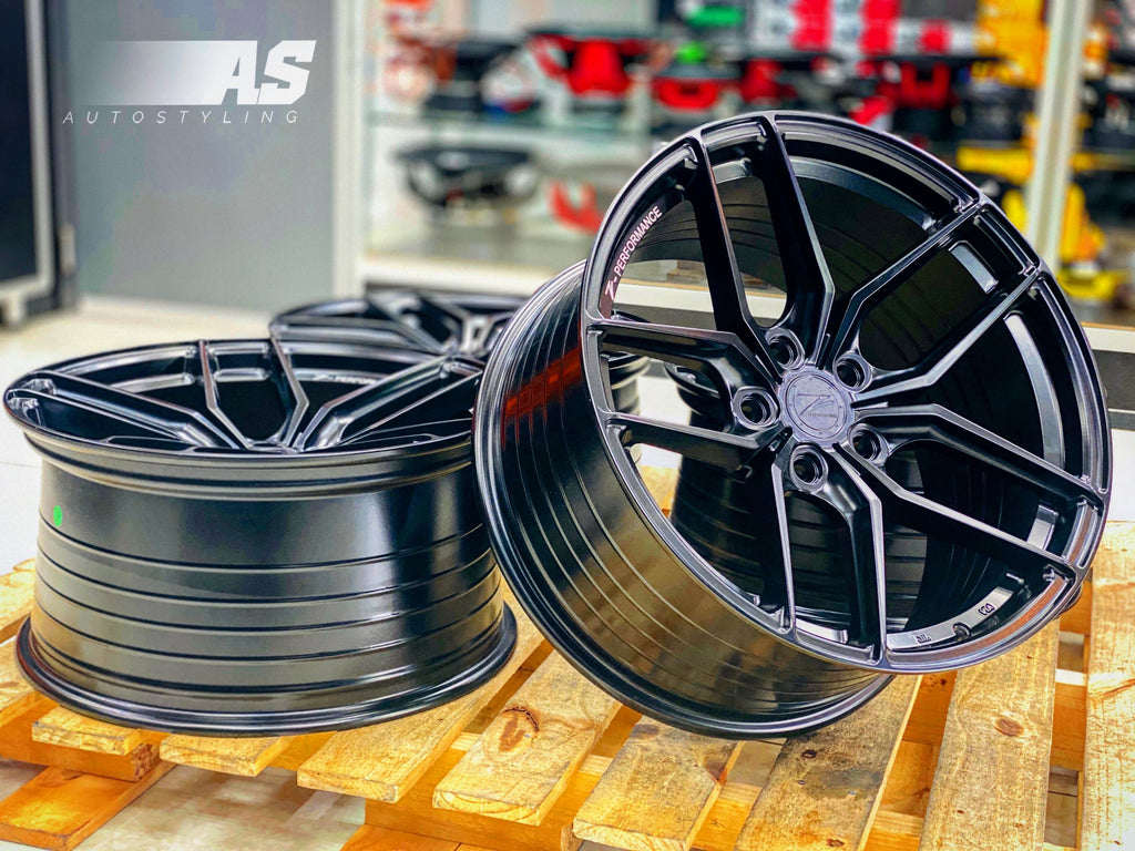 "19"" ZP  5/112 BLACK NARROW WIDE"