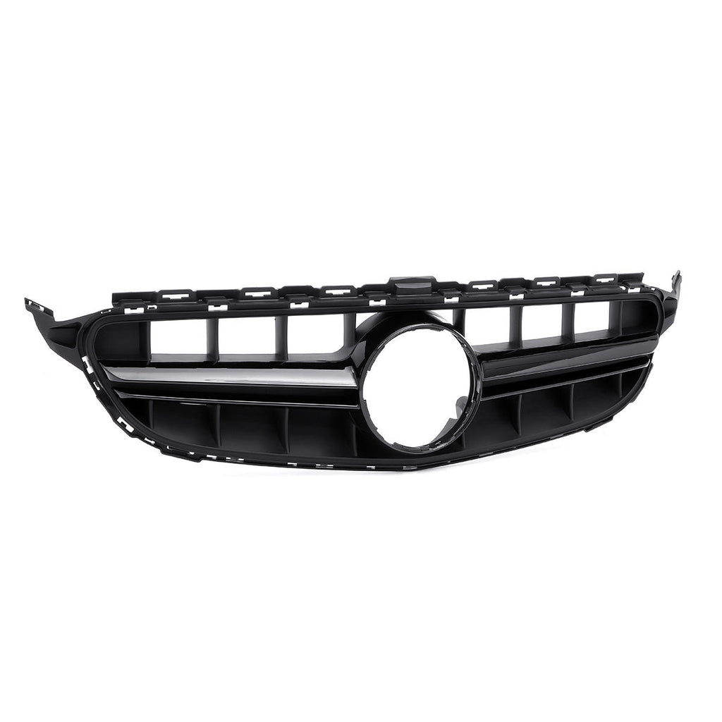 MERCEDES W205 C63 MATT BLACK GRILL CAMERA COMPATIBLE