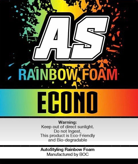 AS RAINBOW FOAM ECONO 5 LITER