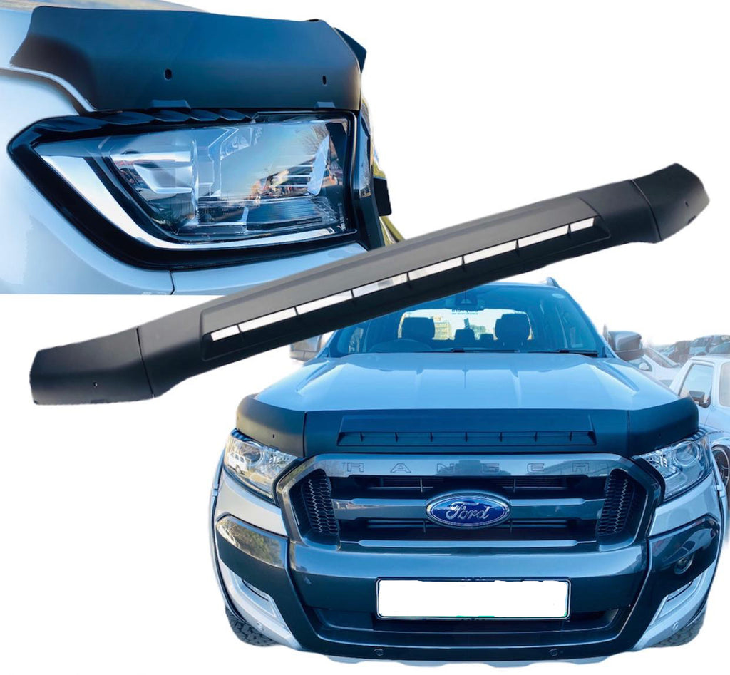 FORD RANGER T7 GRAVEL GUARD MATT BLACK