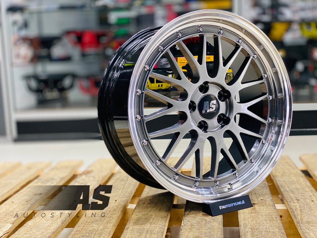 "18"" AS- LM 5/112 TITANIUM"