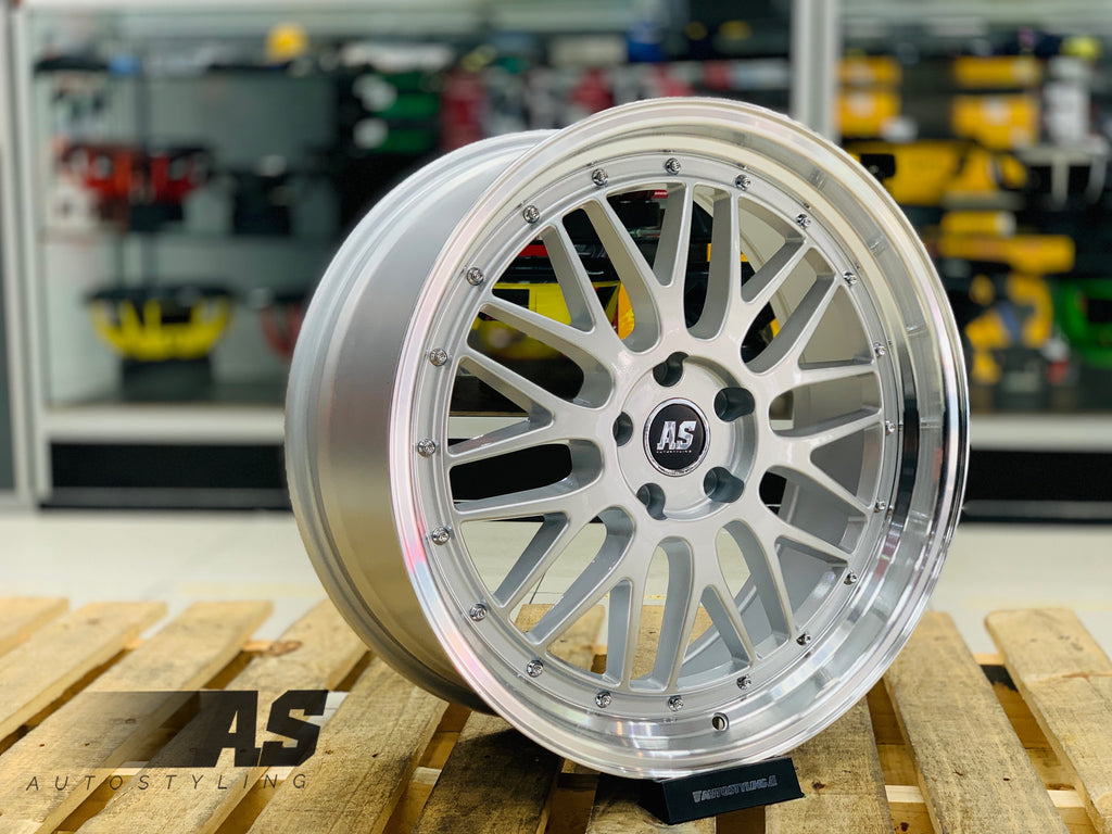 "20"" AS-LM 5/114 SILVER"