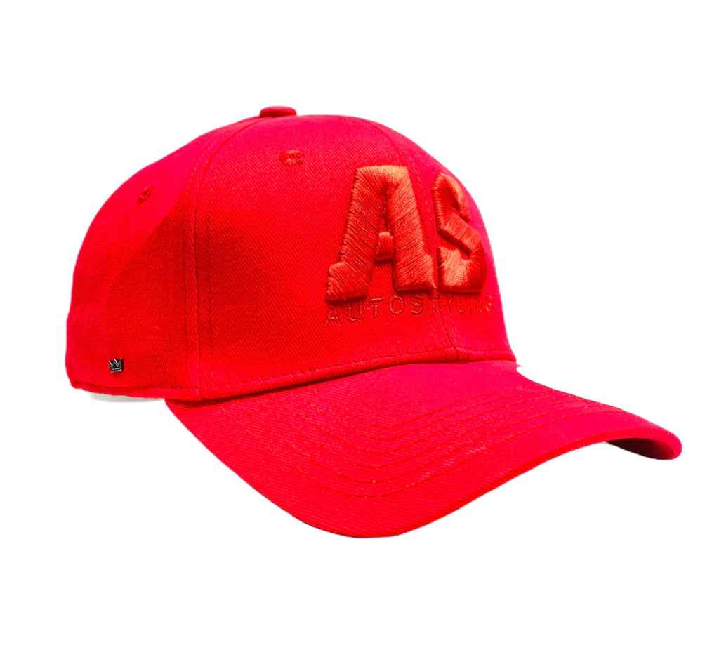 AUTOSTYLING BASEBALL CAP RED