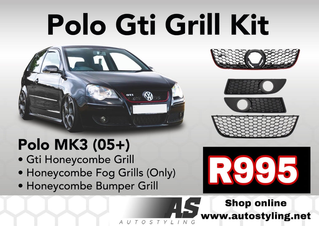 POLO 9n GTI GRILL KIT