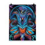 Tribal Heart Poster
