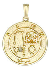 GEMINI 10K Gold Pendant (May 22 - June 21)