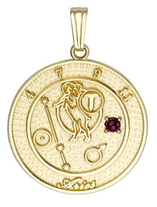 ARIES 10K Gold Pendant (March 21 - April 20)