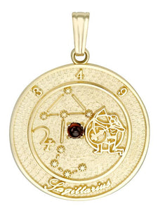 SAGITTARIUS 10K Gold Pendant (November 23 - December 21)