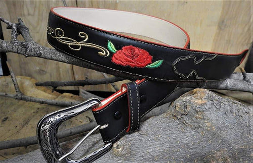 QC-101 Rodeo Ladies Black Belt