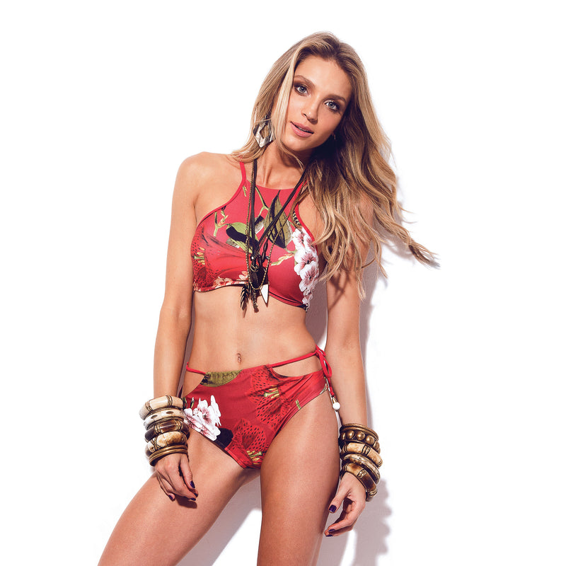 ROUGE BAY High Waist Bikini Bottom-Brazilian-Swimwear-VOLP