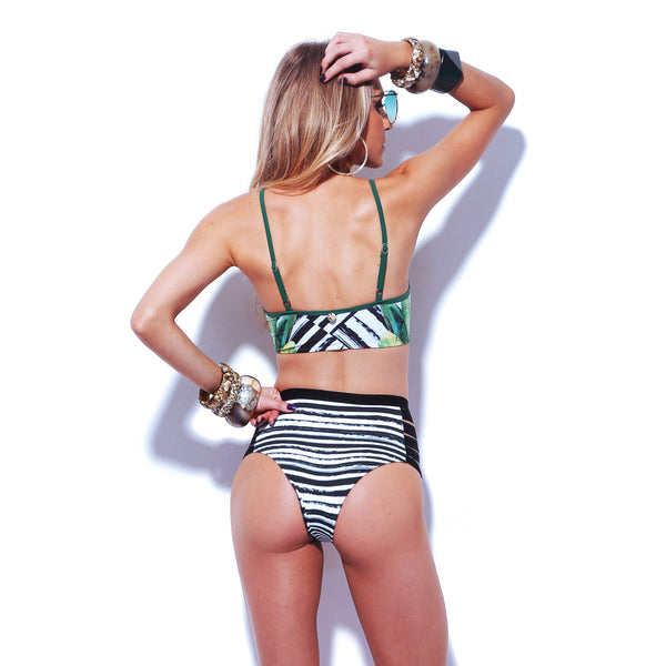 RESORT High Waist Bikini Bottom-Brazilian-Swimwear-VOLP